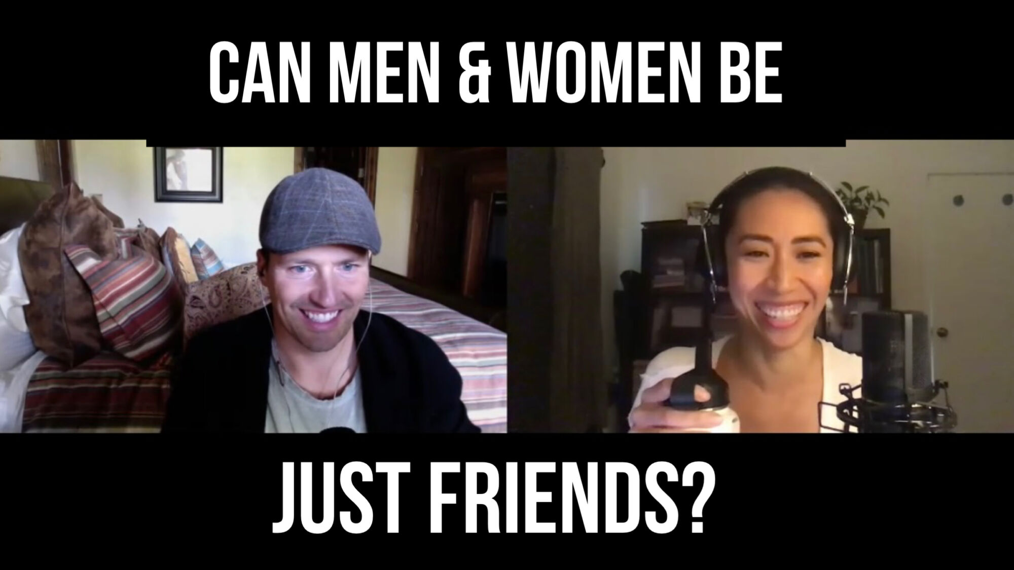 Mark Groves & Christine Chang: Can Men & Women be just friends?